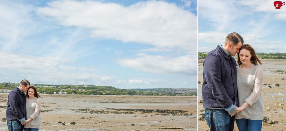 mumbles beach engagement