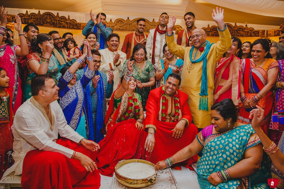 Hindu Traditions at Gujarati Wedding