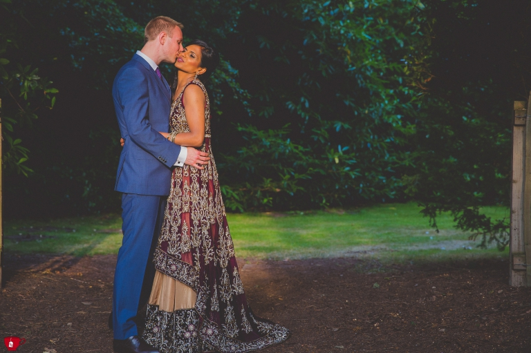 Indian and English Wedding in Knutsford by female photographer