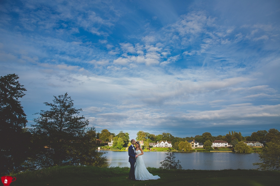 Mere golf club cheshire arab wedding