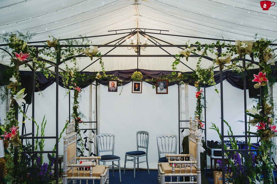 Garden Indian Wedding Mandap