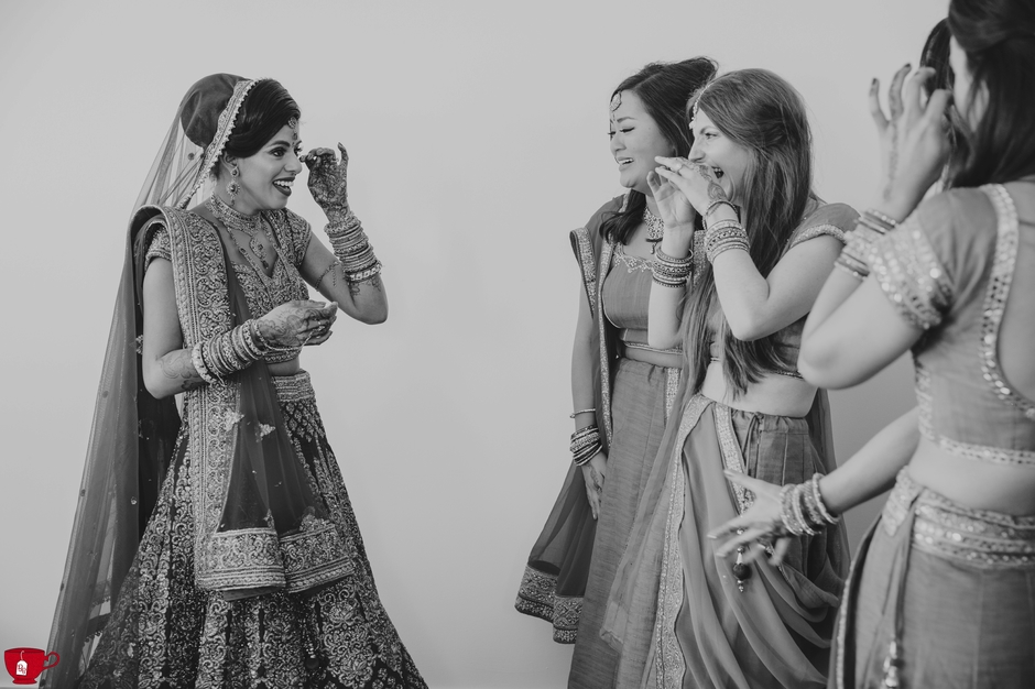 Monastery Manchester Hindu Wedding Photographer
