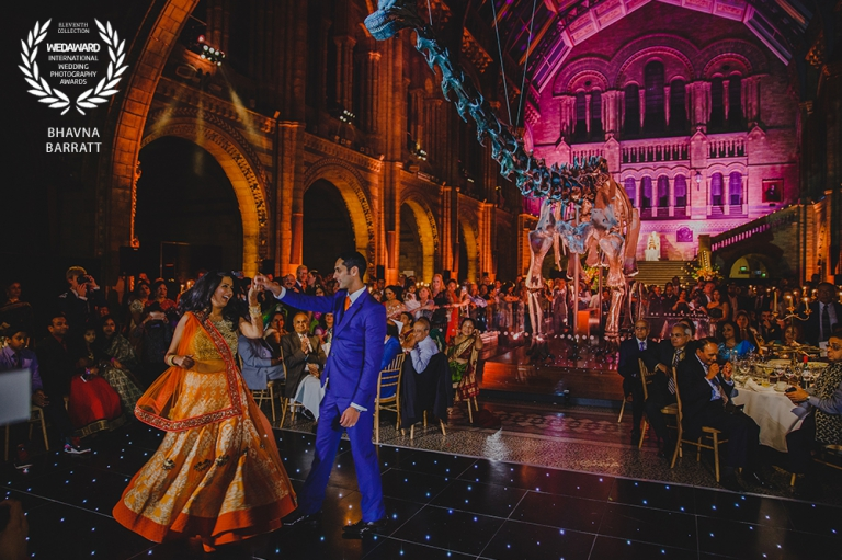 Natural History Museum Hindu Wedding Photographer