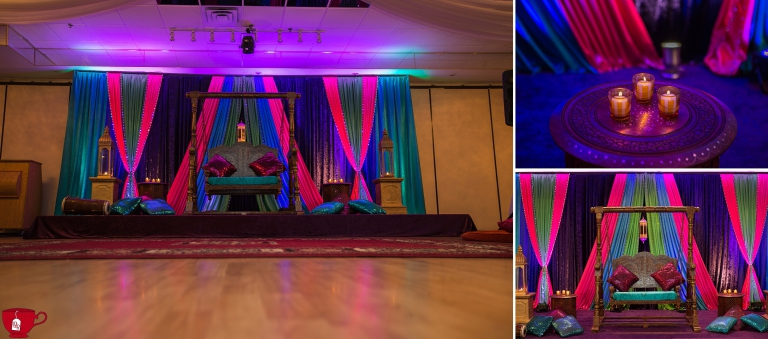 Mehndi Stage Decor mississauga