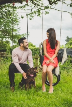 Nottingham engagement shoot by Bhavna Barratt